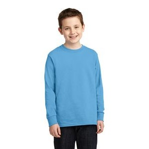 Port & Company� Youth Long Sleeve 5.4 Oz. 100% Cotton T-Shirt