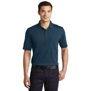 Port Authority� Dry Zone� UV Micro-Mesh Polo Shirt w/Pocket