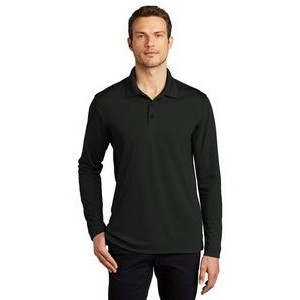 Port Authority� Dry Zone� UV Micro-Mesh Long Sleeve Polo Shirt